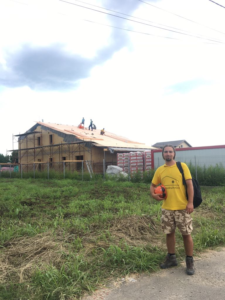 Casa Buhnici in constructie_Sursa Revista Intarzia